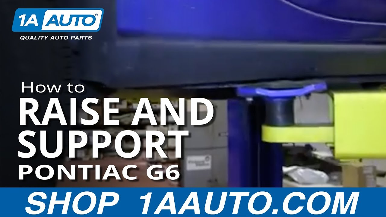 How to Raise and Support 05-10 Pontiac G6