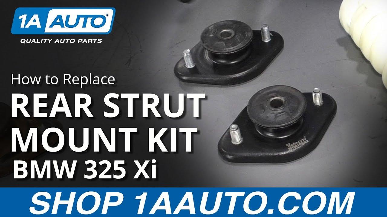 How to Install Rear Strut Mount Kit 01-05  BMW 325 Xi