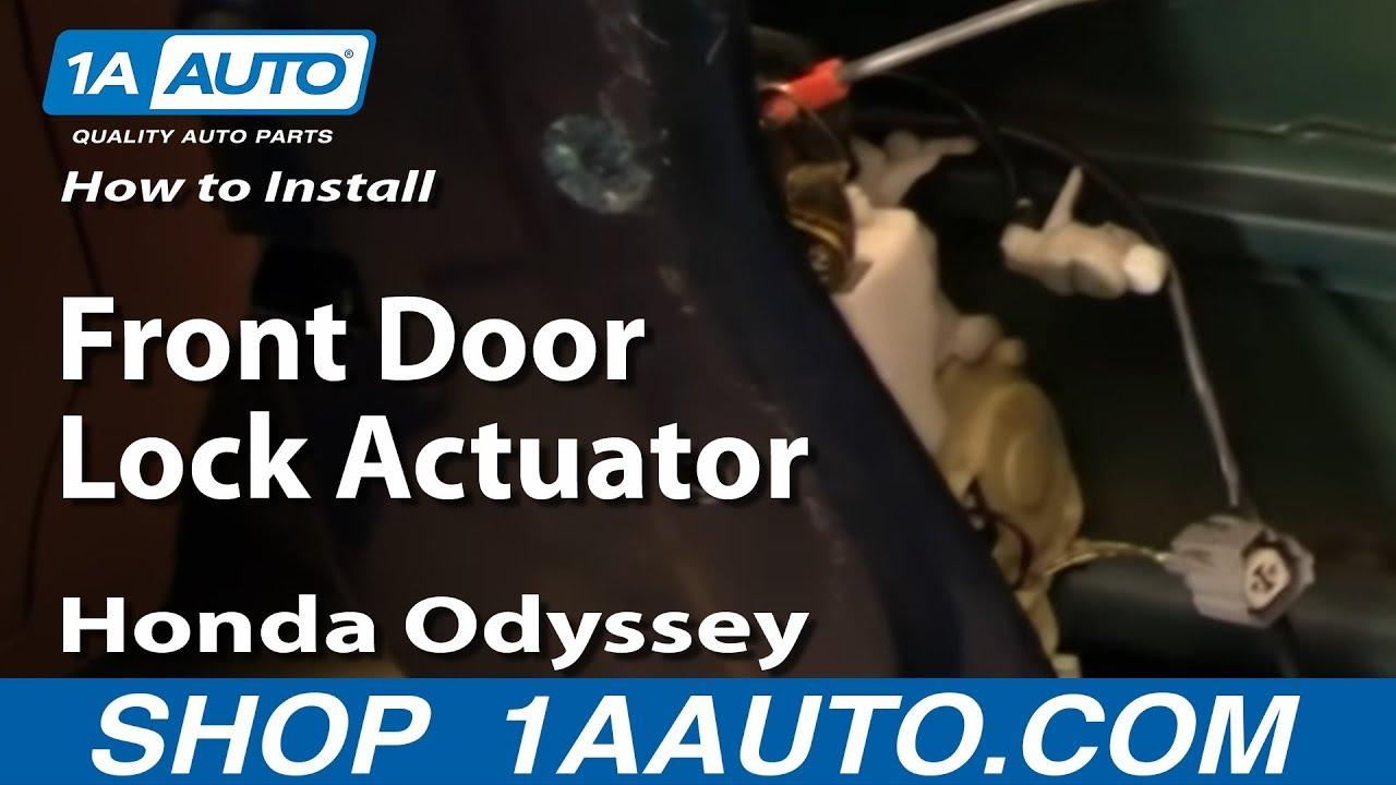 How to Replace Door Lock Actuator 99-04 Honda Odyssey