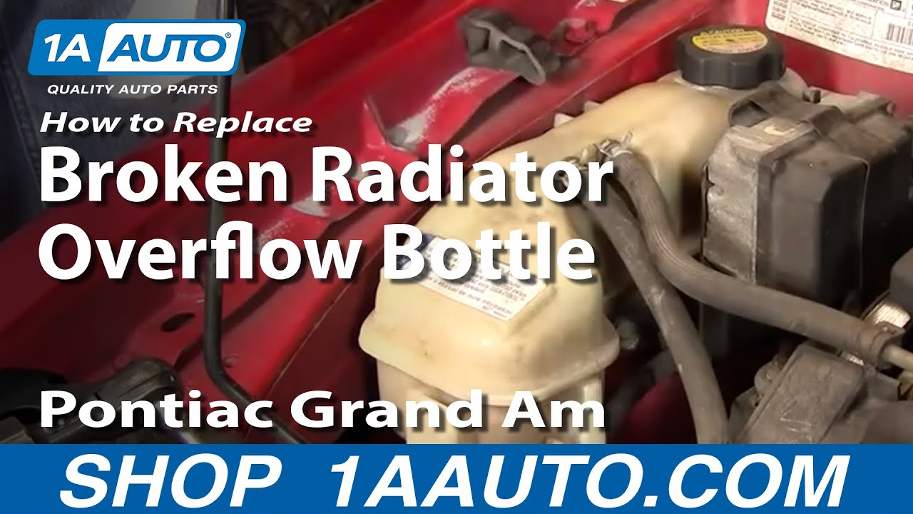 How to Replace Radiator Overflow Bottle 99-05 Pontiac Grand Am
