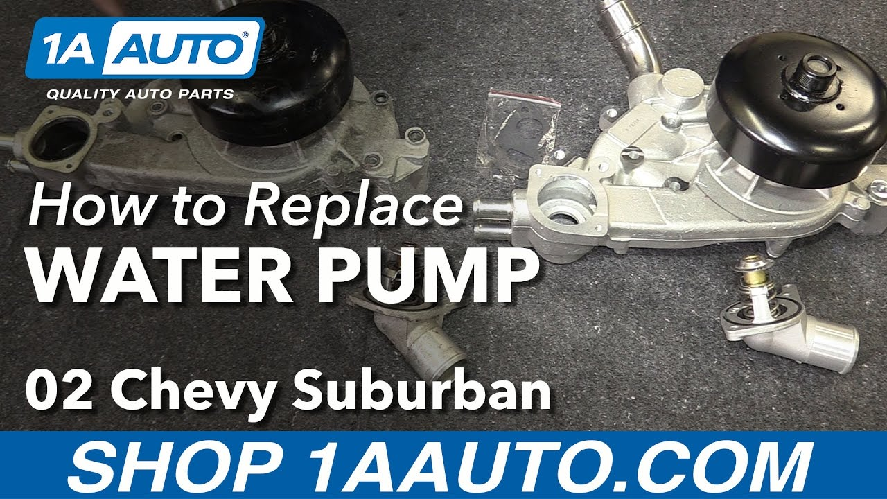 How to Replace Water Pump 00-03 Chevy Suburban