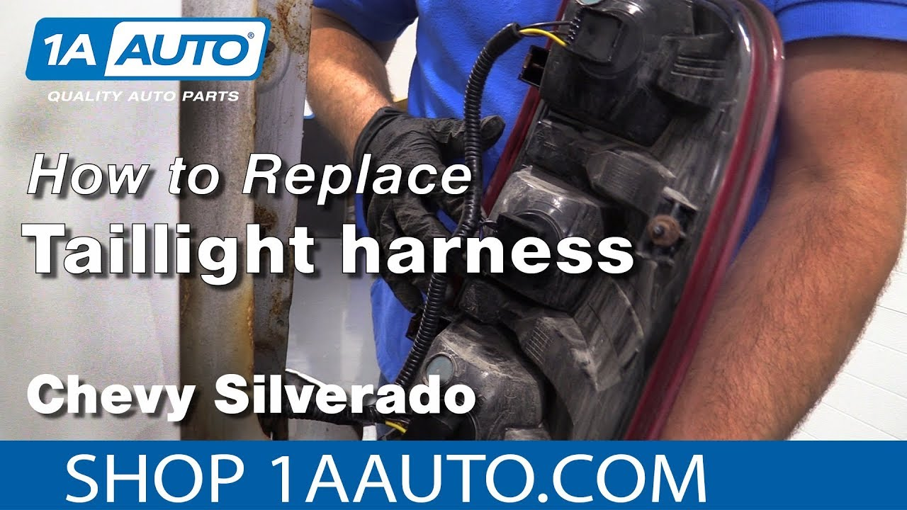 oA-cg9DHTgM  Chevy Silverado Tail Light Wiring Harness on