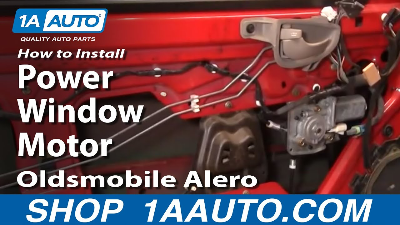 How to Replace Power Window Motor 99-04 Oldsmobile Alero