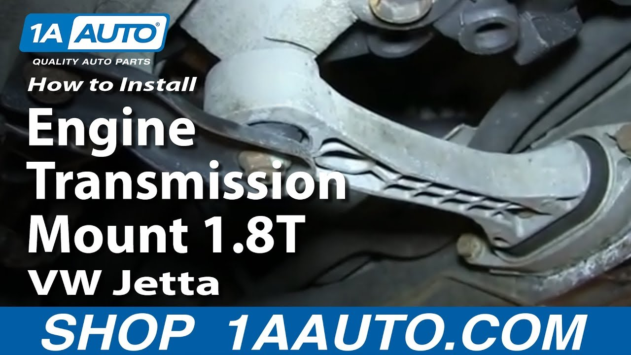 How to Replace Rear Engine Transmission Mount 1.8T 00-05 Volkswagen Jetta