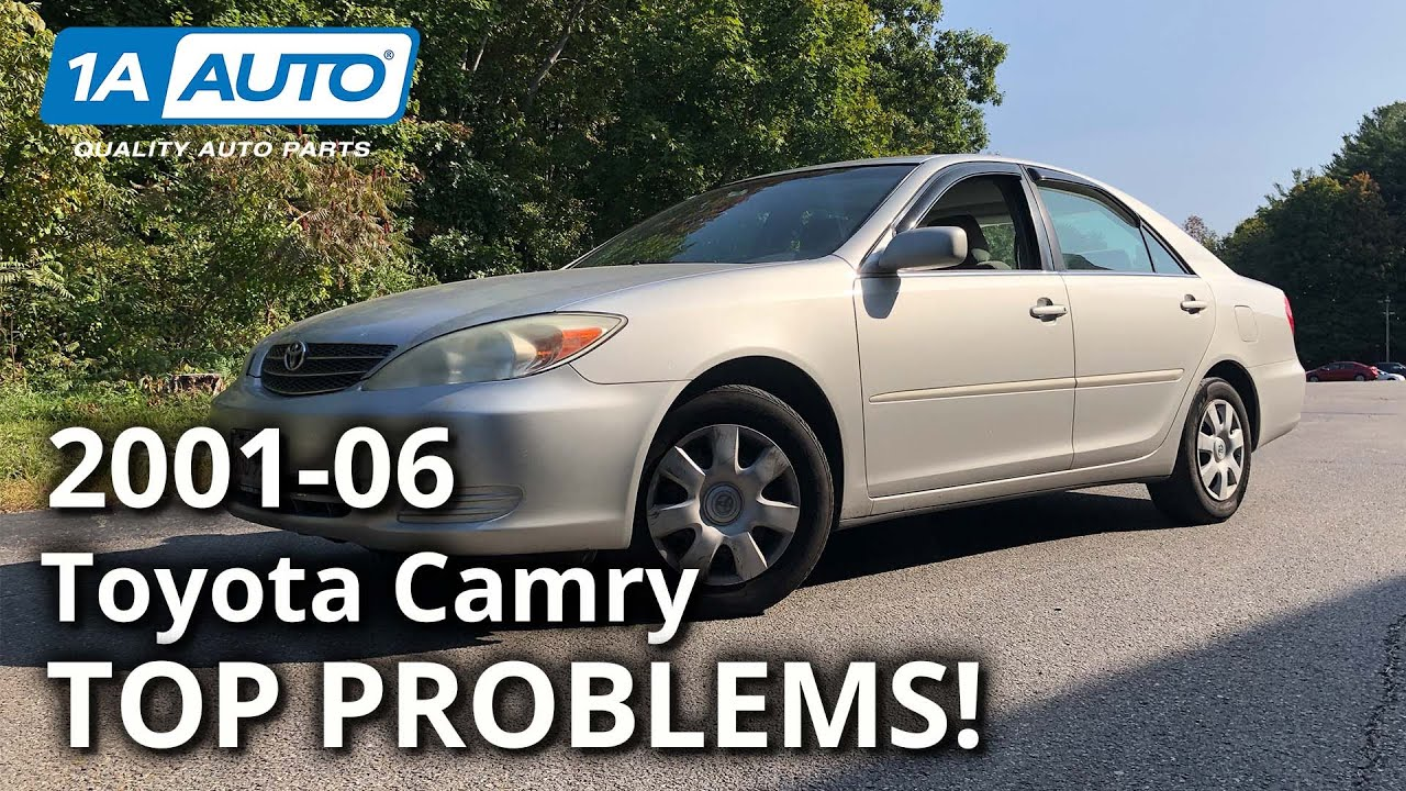 Top Problems Toyota Camry Sedan XV30 5th Generation 2002-06