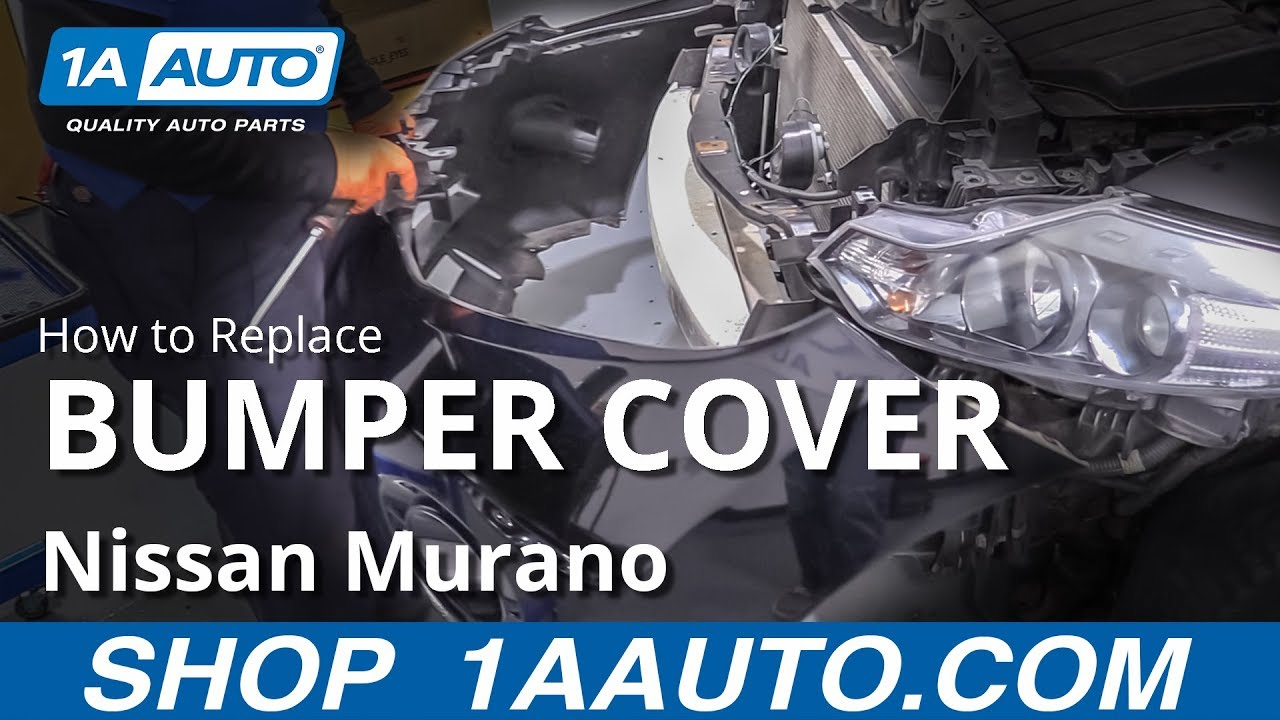 How to Remove Bumper Cover 09-14 Nissan Murano