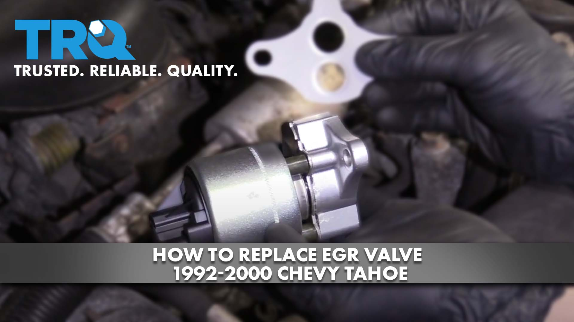 How To Replace EGR Valve 1992-2000 Chevy Tahoe