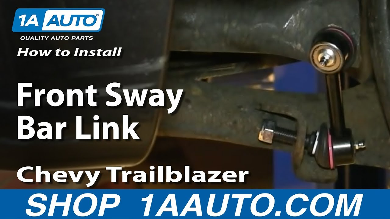 How to Replace Sway Bar Link 02-09 GMC Envoy XL