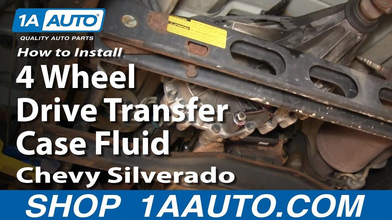 2005 chevrolet 2500 transmission fluid