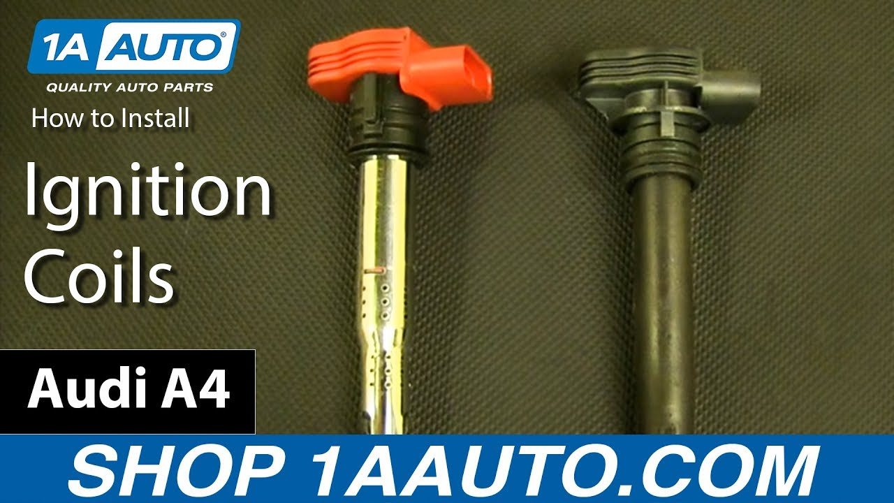 How To Replace Ignition Coils 05-15 Audi A4