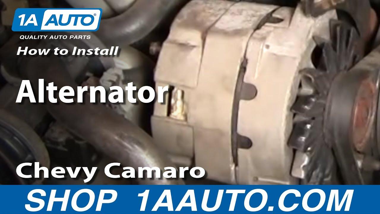 How to Replace Alternator 85-86 Chevy Camaro