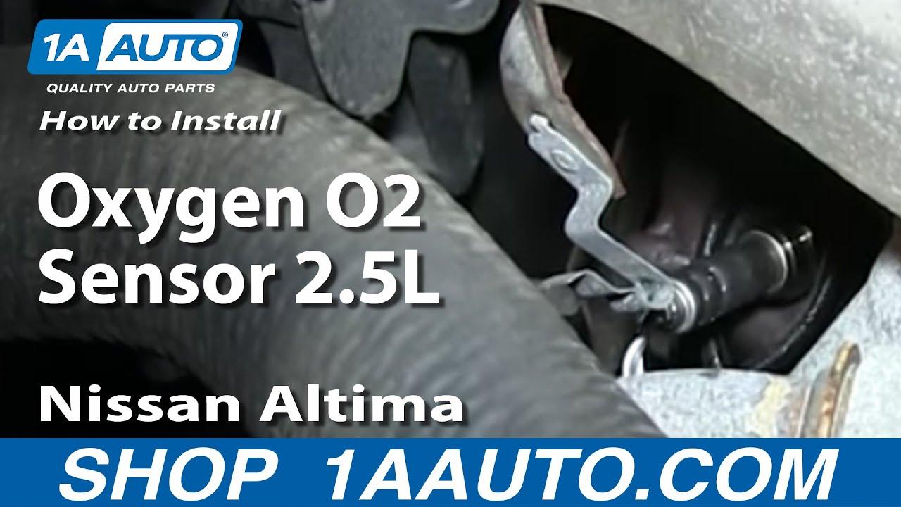 How to Replace O2 Oxygen Sensor 02-03 Nissan Altima