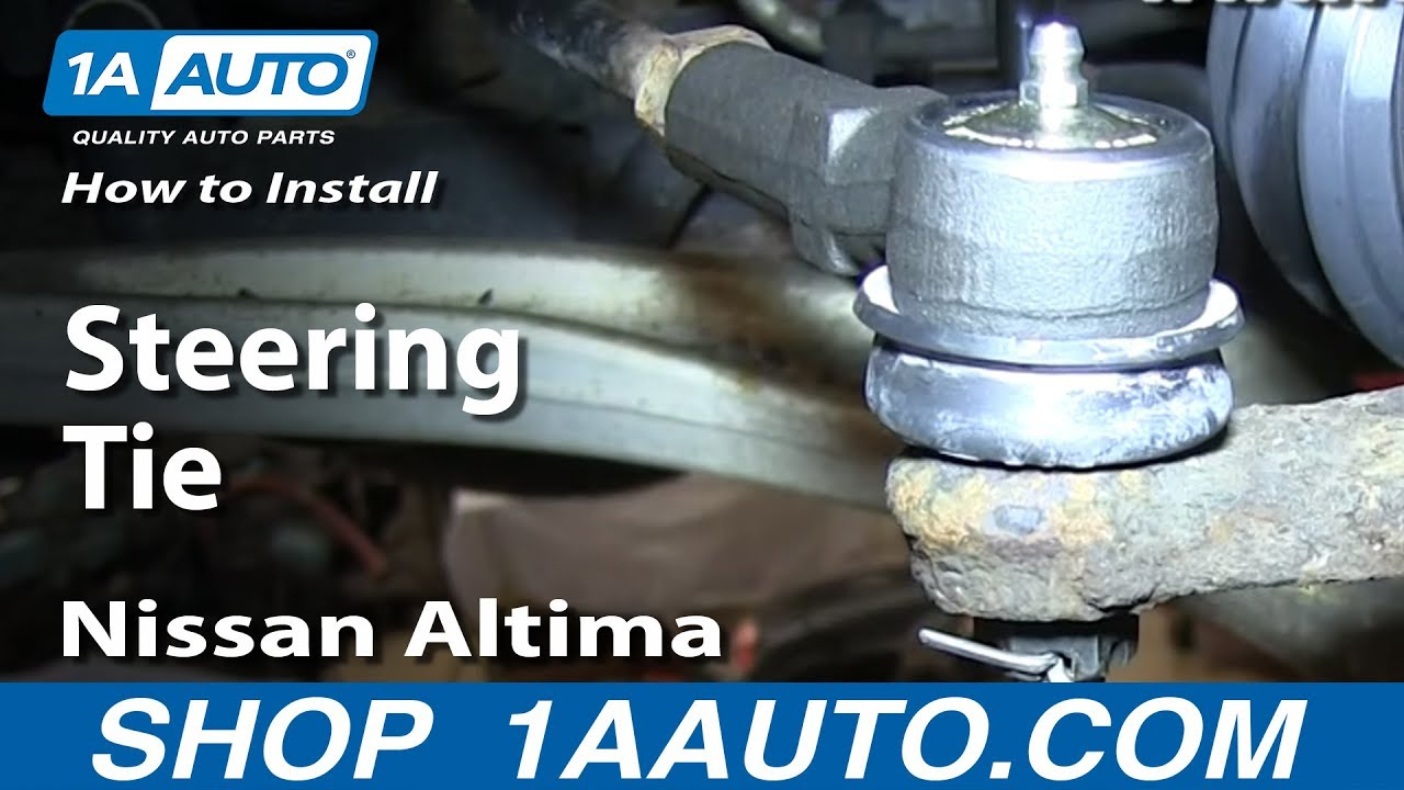 How to Replace Tie Rod 2002-2006 Nissan Altima