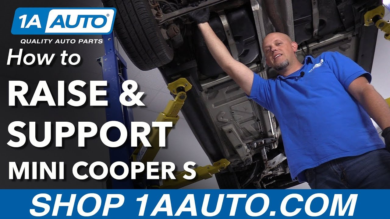 How to Raise and Support 07-13 Mini Cooper S