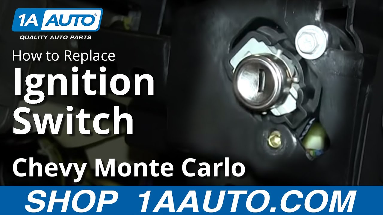 1992 ford f150 xlt radio wiring diagram how to replace install ignition switch 00 05 chevy monte  how to replace install ignition switch 00 05 chevy monte