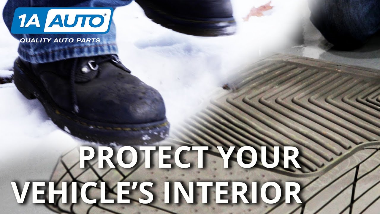Protect Your Car or Trucks Interior with All Weather Floor Mats Easy Upgrade