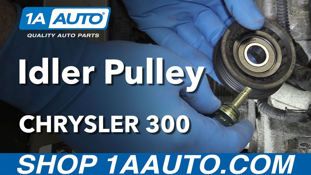 How to Replace Idler Pulley 05-10 Chrysler 300