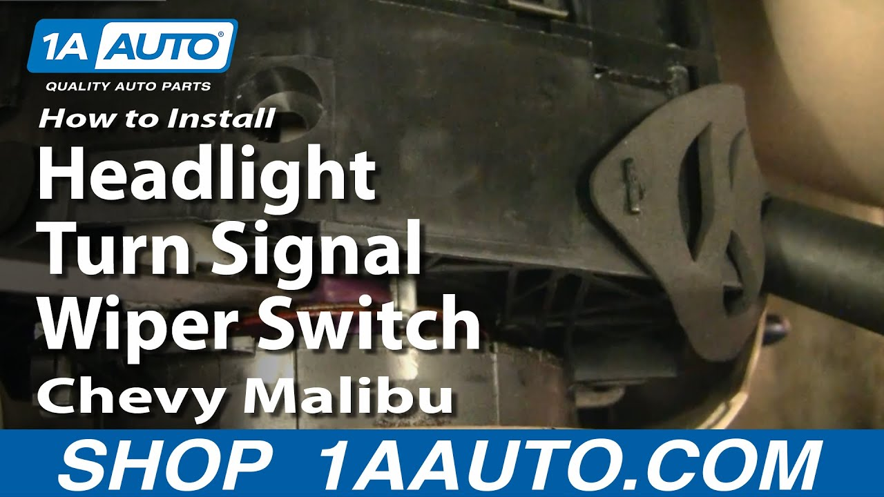 How to Replace Combination Switch 97-03 Chevy Malibu