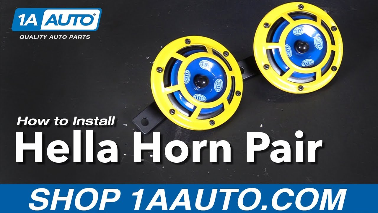 How to Wire and Install Hella Horns