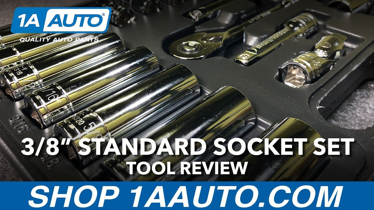 38 Inch Socket Set - Available on 1aautocom