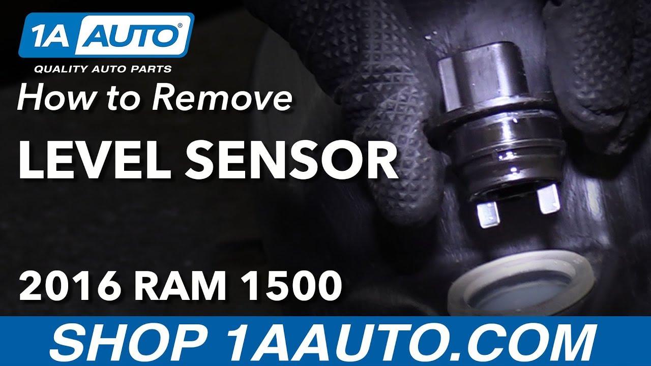 How to Remove Washer Fluid Level Sensor 11-18 Ram 1500