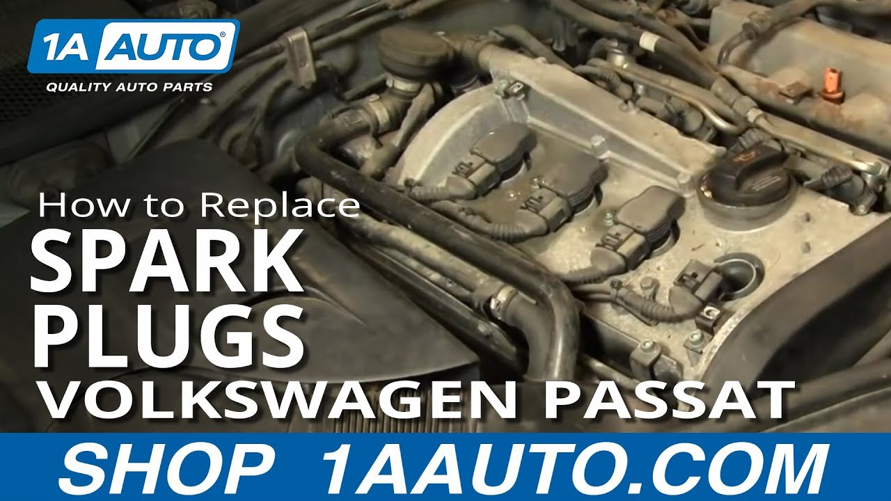 How to Replace Spark Plugs 95-13 Volkswagen Passat