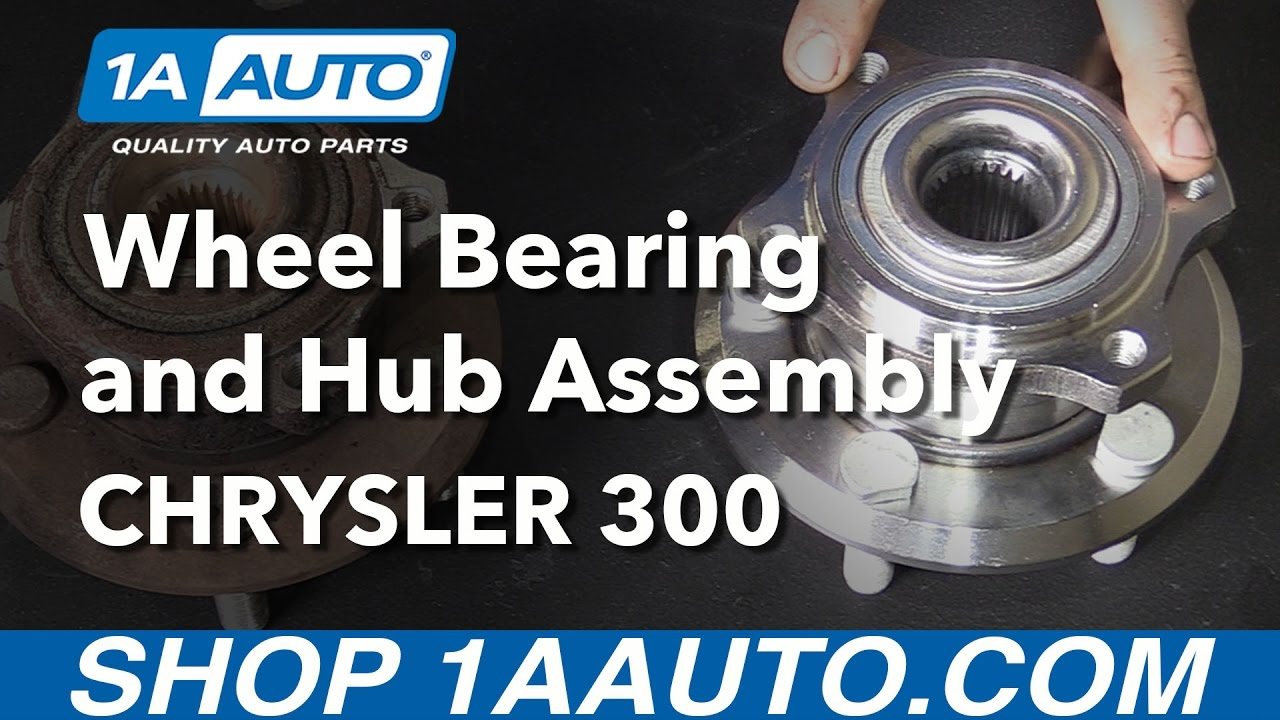 How to Replace Rear Wheel Bearings 05-08 Chrysler 300