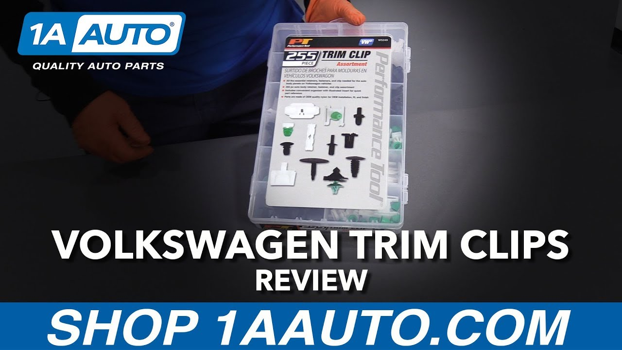 255pc Volkswagen Trim Clip Assortment - Available at 1AAuto.com