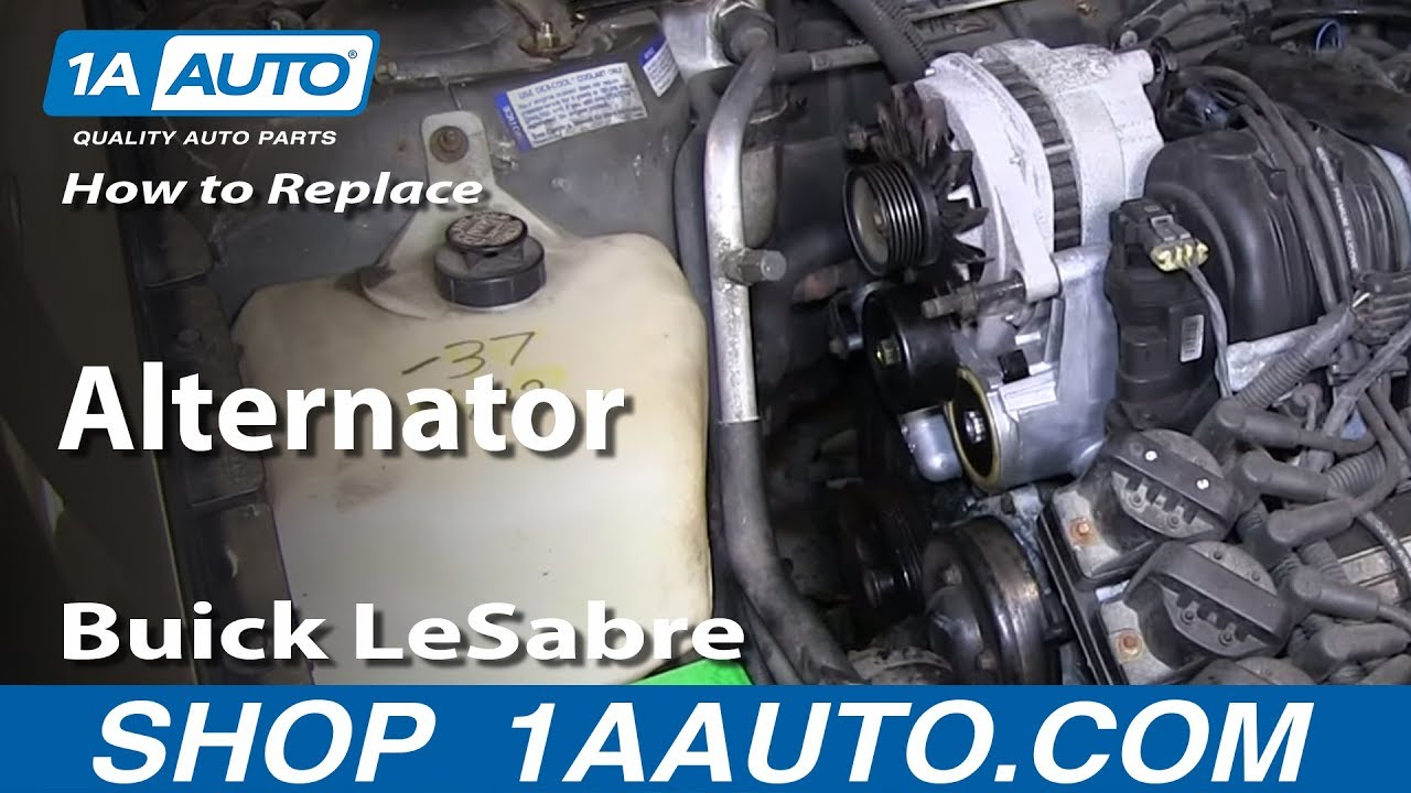 How to Replace Alternator 96-99 Buick LeSabre