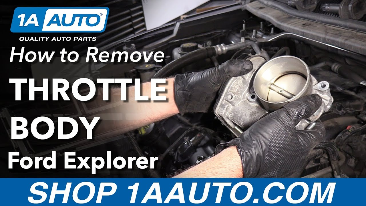 How to Remove Throttle Body 11-19 Ford Explorer