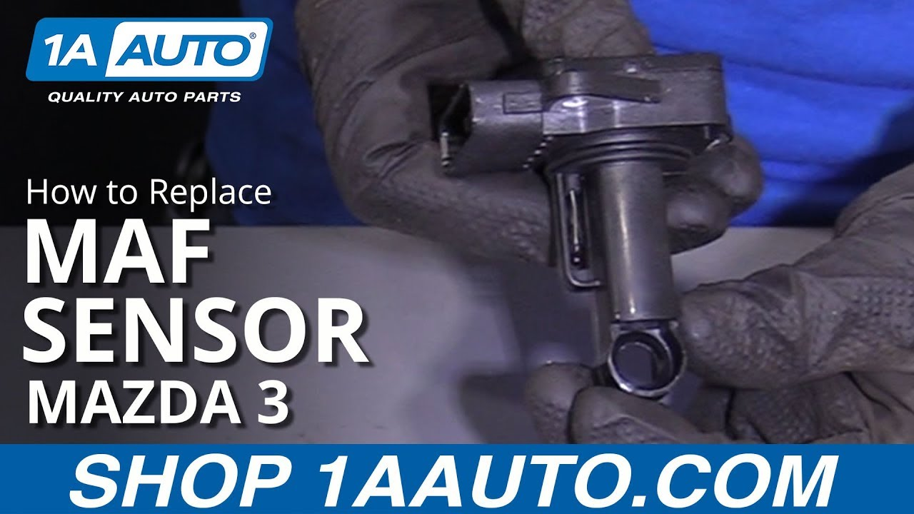 How to Replace Mass Air Flow Sensor 04-13 Mazda 3