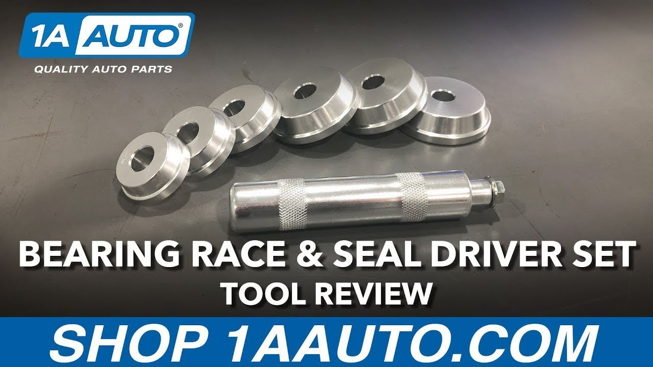 Bearing Race & Seal Driver Set - Available on 1aauto.com