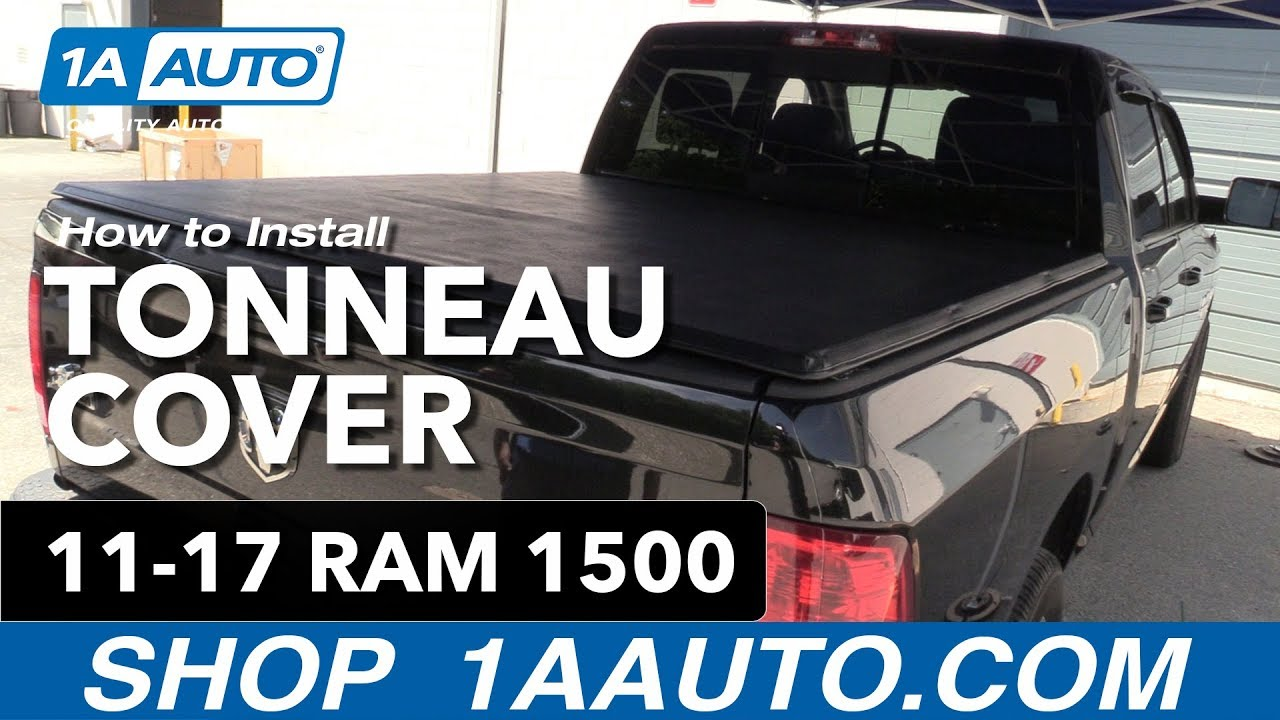 How to Install Tonneau Cover 11-17 Ram 1500