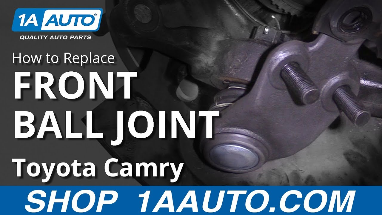 How to Replace Ball Joint 11-17 Toyota Camry