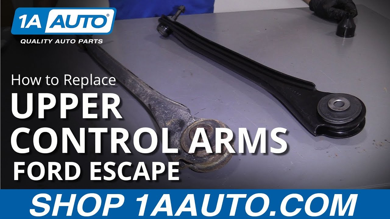 How to Replace Rear Upper Control Arms 09-12 Ford Escape