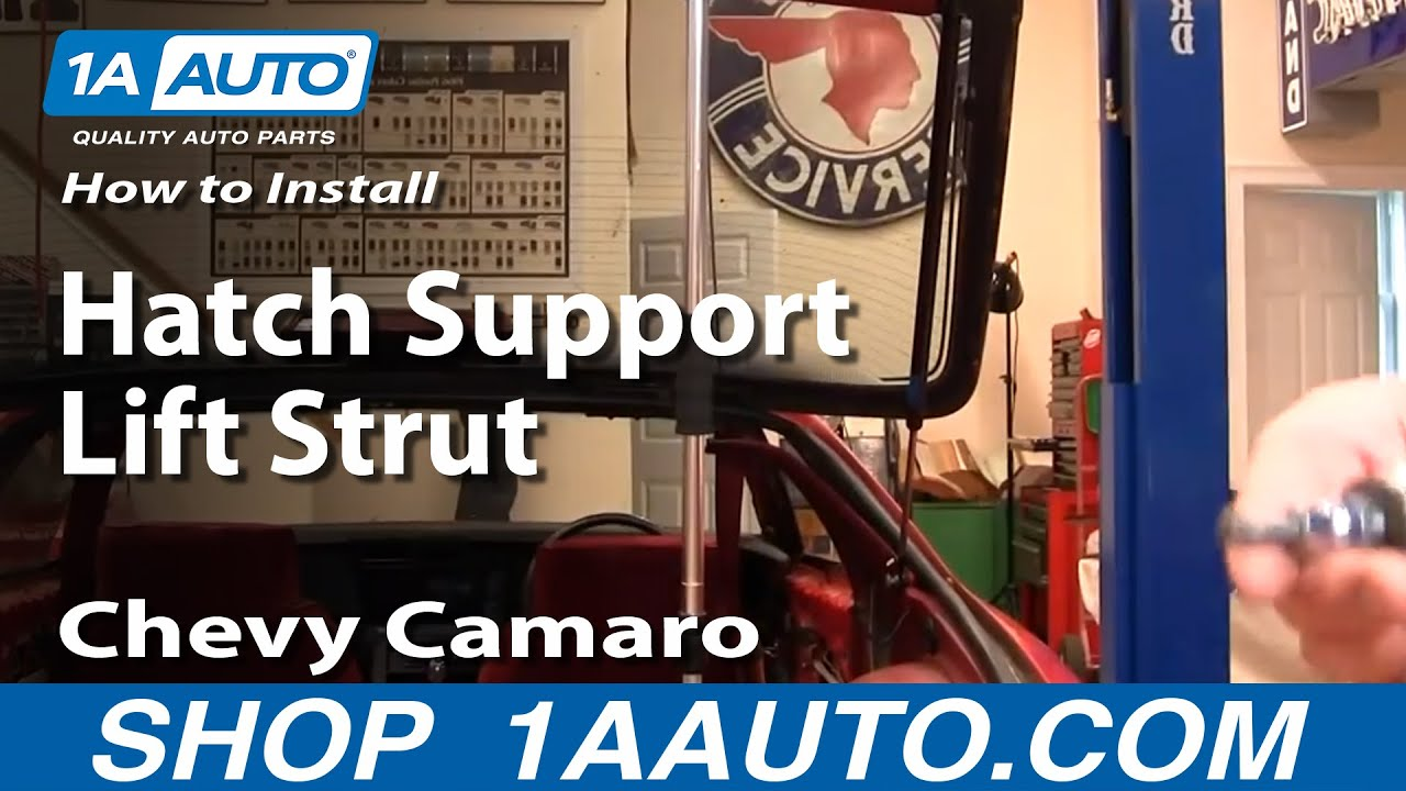How To Replace Rear Hatch Support Struts 82-92 Chevy Camaro