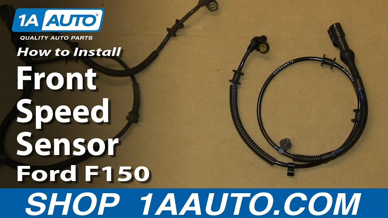 How To Replace Front ABS Sensor Harness 04-08 Ford F150
