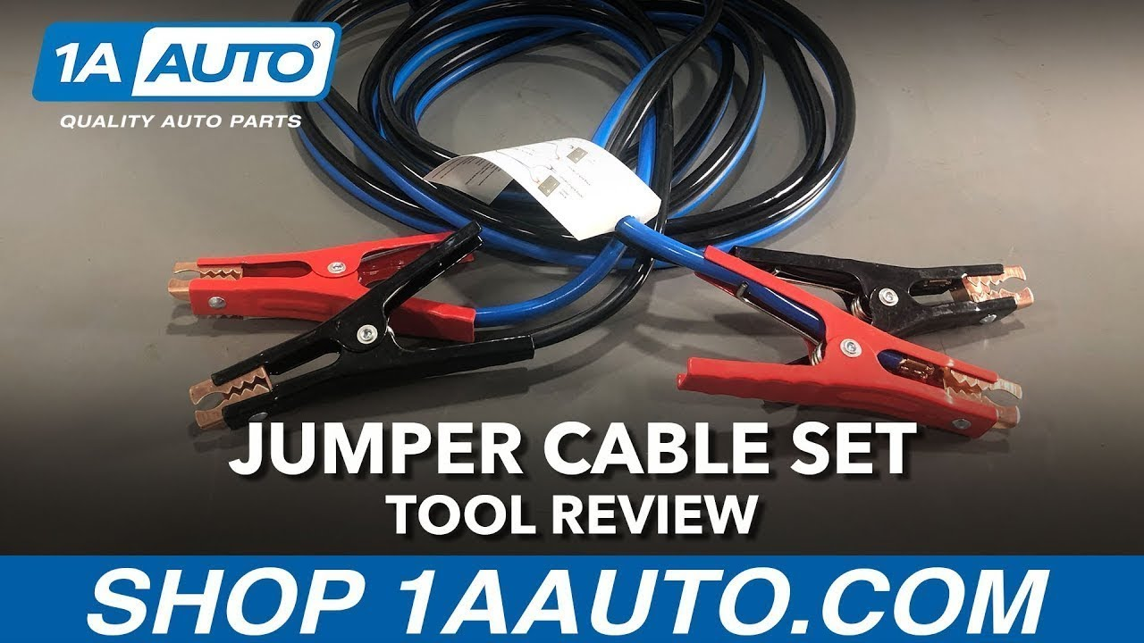 Jumper Cable Set - Available on 1aauto com
