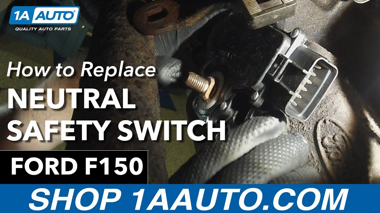how to replace neutral safety switch 97 03 ford f150 1a autoan error occurred