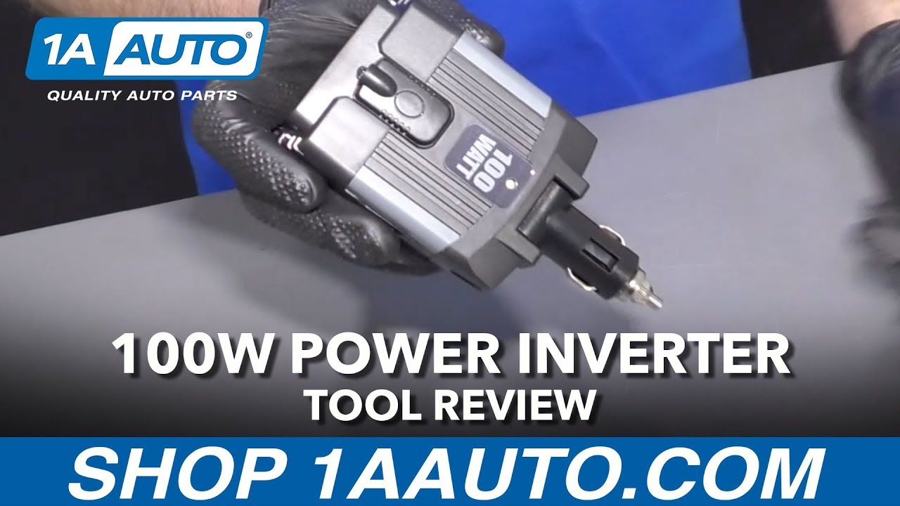 100 Watt Power Inverter - Available at 1aauto.com