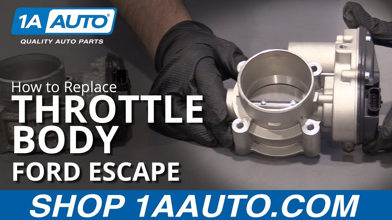 How to Replace Throttle Body 09-16 Ford Escape