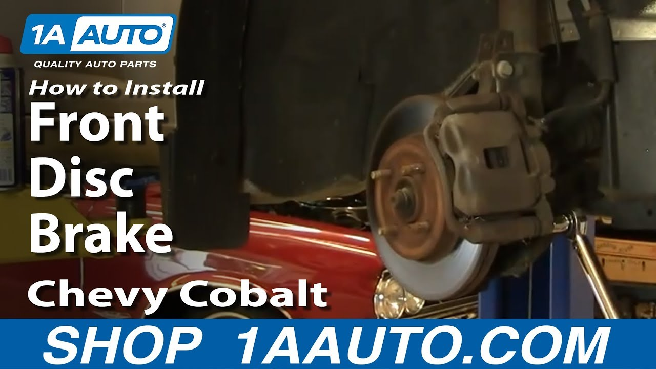 How to Replace Front Brakes 05-10 Chevy Cobalt
