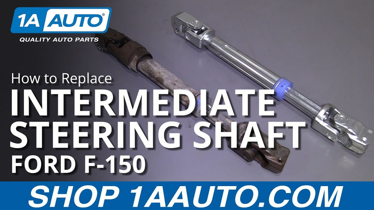 How to Replace Intermediate Steering Shaft 11-14 Ford F 150