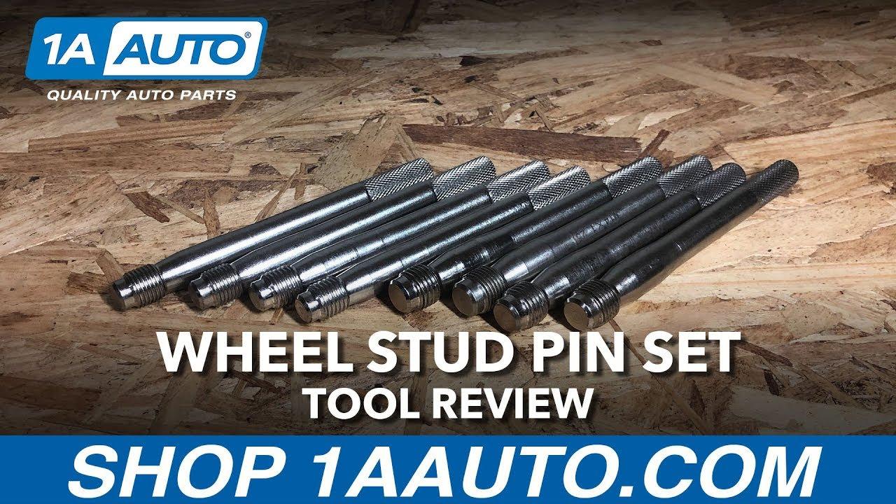 Wheel Stud Pin Set - Available on 1aautocom