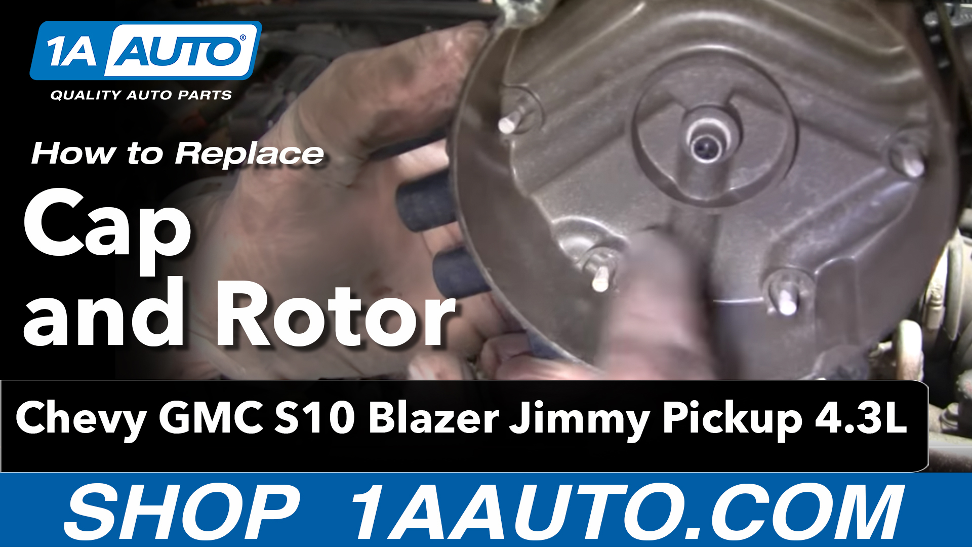 How to Replace Distributor Cap & Rotor 95-05 Chevy Blazer S10