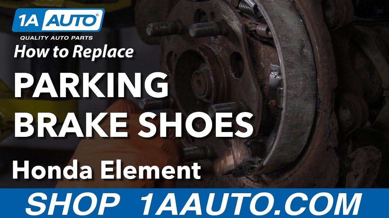How to Replace Parking Brake Shoes 03-11 Honda Element