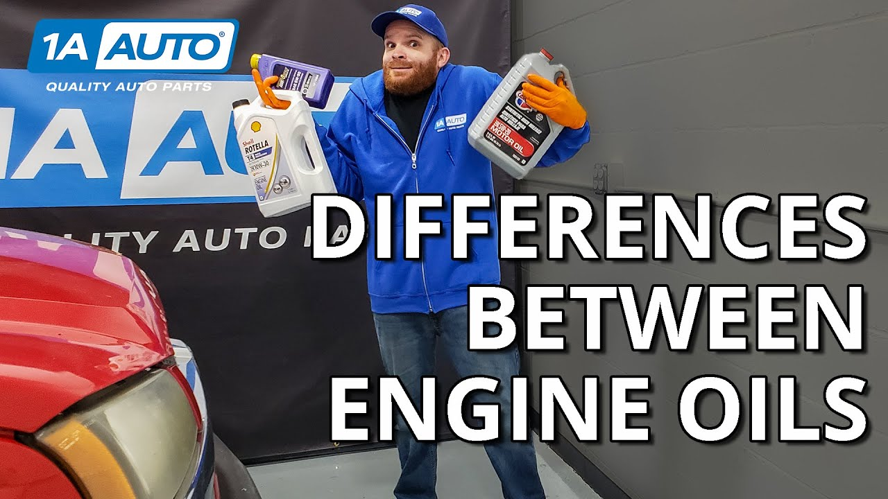 Car, Truck, SUV Engine Oil Differences Explained!