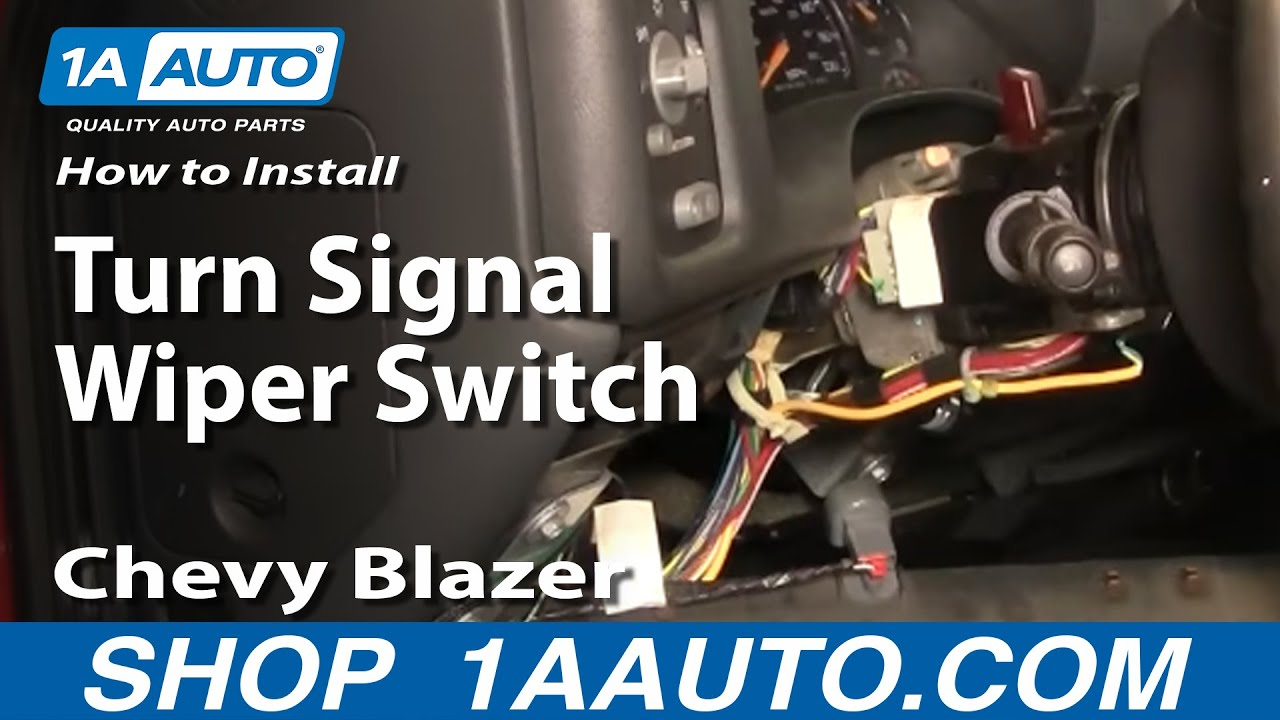 How to Replace Combination Switch 98-04 GMC Sonoma | 1A Auto