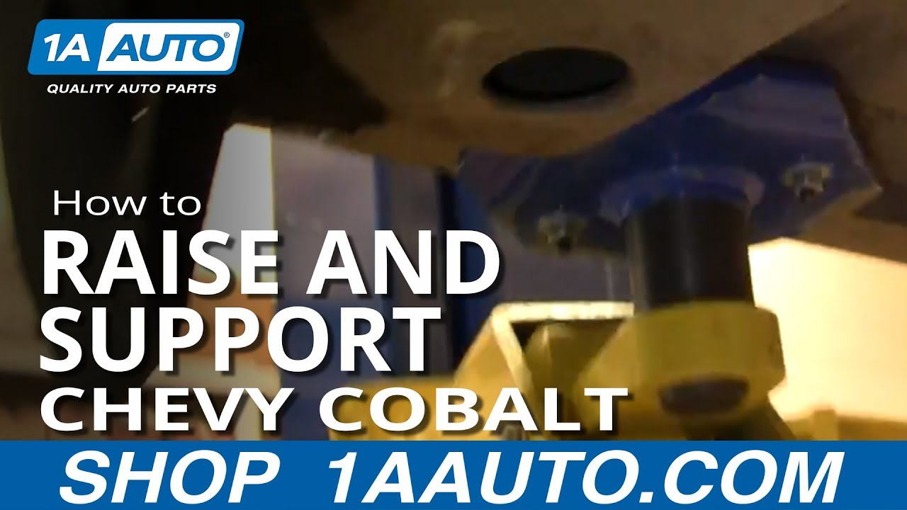 How to Raise and Support 05-10 Chevy Cobalt