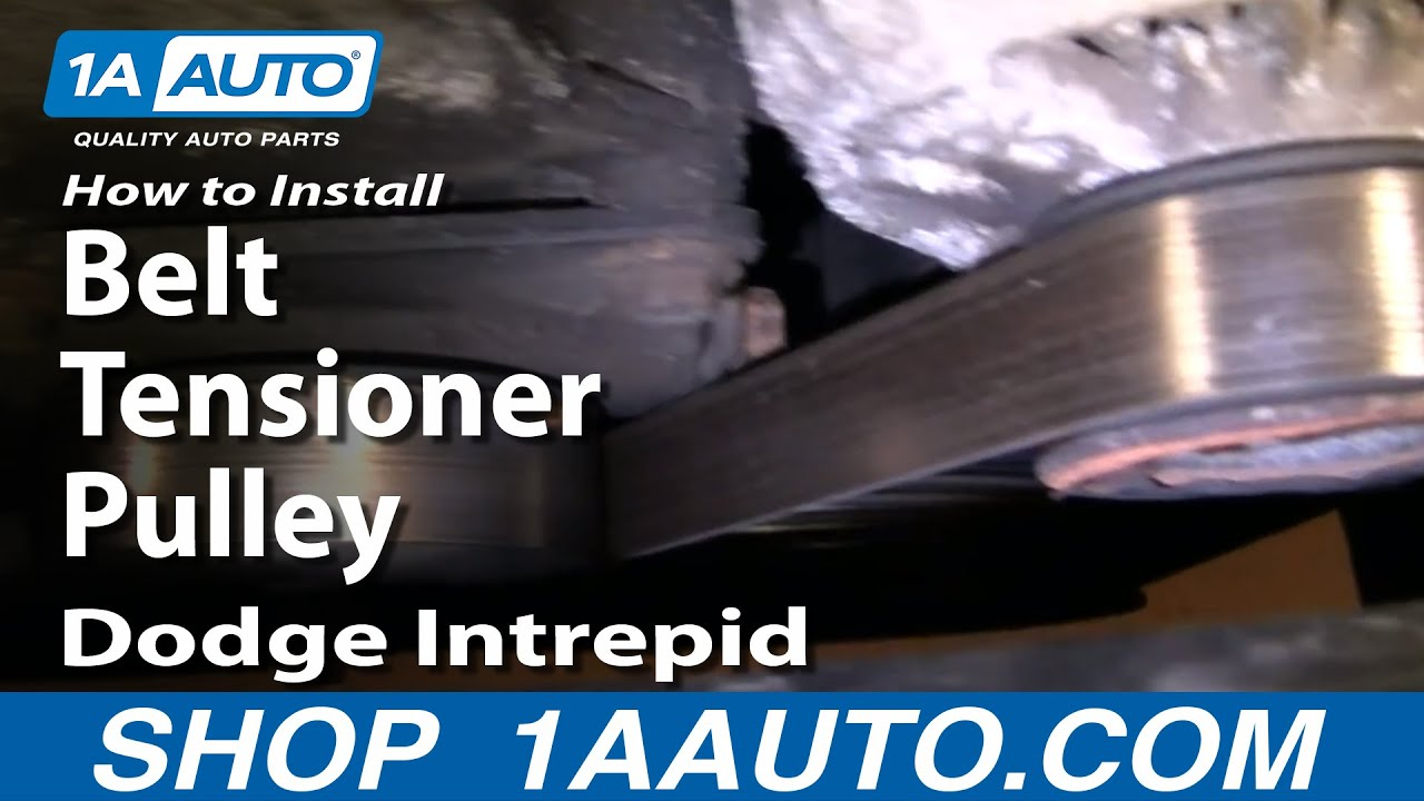 How To Replace    Belt    Tensioner Pulley 9397    Dodge    Intrepid